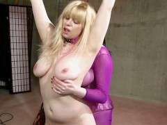 Blonde Is Thankful For Being Dominated
