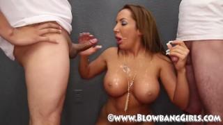 BlowBang Girls Cumshot Compilation
