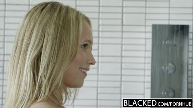 BLACKED Monster Black Cock (中出)creampies Blonde Teen Dakota James