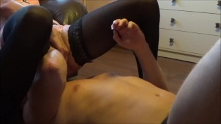 Two Awsome Squirting Orgasms after Face Sitting and Pussy Eatting  cunnilingus squirt pussy eating squirt femdom facesitting facesitting truutruu femdom huge squirt cunnilingus squirting pussy licking squirt orgasm pussy licking pussy eating rough pussy eating facesiting slave drink squirt