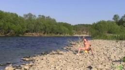 Katya Clover - Rainbow Fleshing on River