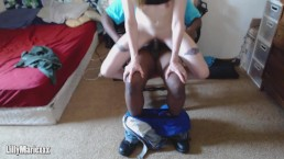 Interracial BBC riding