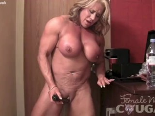 Jaylene Rio Lingerie Fucking, Female Muscle Cougar With A Big Clit