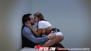 Digital Playground - Madison Ivy sucks cock in the changing room Lingerie tits