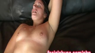 Preview 3 of Chubby Whore Delilah Gets Jizzed And Fucked Hard Again