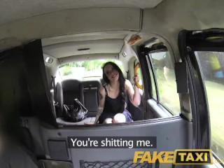 Preview 3 of FakeTaxi Filthy tattooed British cock swallower loves fucking taxi drivers