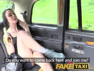 Preview 4 of FakeTaxi Filthy tattooed British cock swallower loves fucking taxi drivers