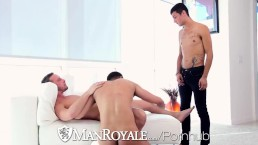 ManRoyale - Threeway Fuckfest with Billie Ramos Davey Anthony & Josh Nelson