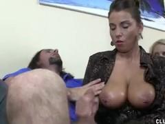 Stacie Starr Handjob Cumshot Compilation