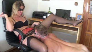 Extremely Huge Squirting Orgasm with Smoking and Pussy Eating by Truutruu porno