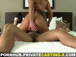 Private Casting-X – Hottie loves it wild and rough