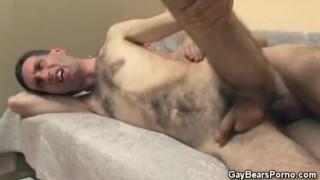 Slim Hairy Guys Butt Fucking