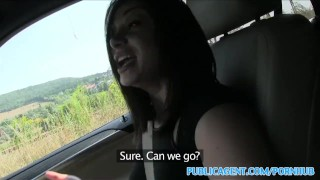 PublicAgent Horny hitchhiking babes fuck for cash part 2  sex for money sex for cash outdoors outside point-of-view amateur cumshot public pov real camcorder natural-tits reality romanian publicagent bubble-butt sex with stranger