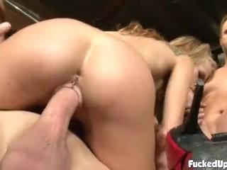 Cum In My Bum Aiden Aspen On Extreme Fucking, Big Dick Blonde Hardcore Pornstar Gangbang