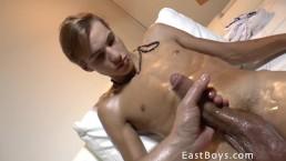 Beautiful Boy Gets Handjob