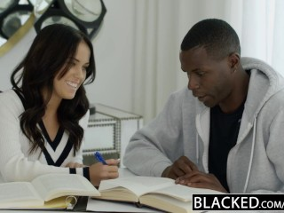BLACKED Megan Rains First Experience With Big Black Cock Part 1