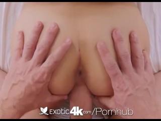 Exotic4K - Hot Latina Nina North oils up her huge tits