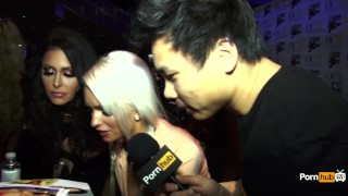 PornhubTV Emily Austin Interview At 2015 AVN Awards Teen young