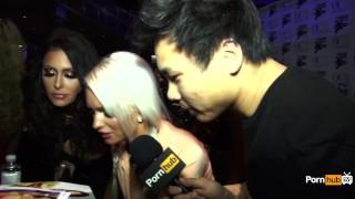 PornhubTV Emily Austin Interview At 2015 AVN Awards porno