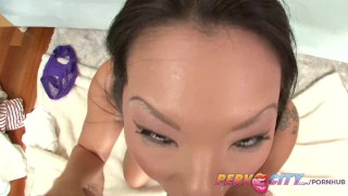 PervCity Asa Akira Japanese Blowjob  sloppy big-cock cock-sucking gaping asian pervcity blowjob tattoo big-boobs pov skinny toys rimming japanese gape gagging deepthroat anal big-dick butt fucking