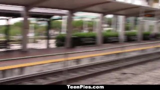 TeenPies - Chick Gets Creampie For Revenge