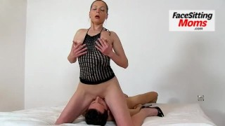 Big natural tits lady Greta with a boy czech facesitting  older woman big tits high heels facesitting facesittingmoms mom lady busty milf mature european cougar mother stockings big boobs old young