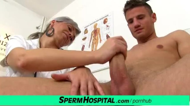 Hot Female Doctor Milf Beate Milking Young Dick  Thumbzilla