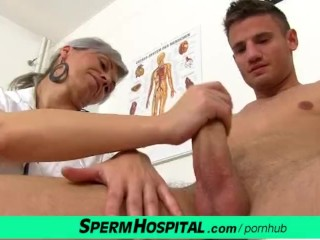 Male doctor wank patient gay when the