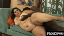 Fat Ass Lorelai Givemore takes black dick.