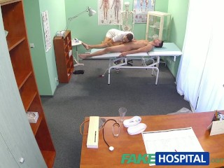 Girls Ass In The Air Fakehospital Hot Nurse Massages Patient Before Sucking And Fucking Him