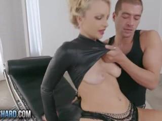 Pinky takes a big dick