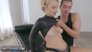 Twistys Hard hot blonde Staci Carr loves cock