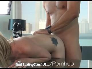 CastingCouch-X – Little Dakota Skye's first audition for porn