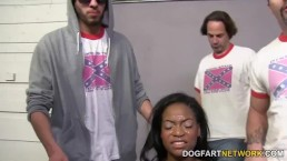Monique Symone Gets Fucked By A Gang Of White Men