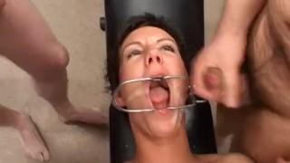 extreme bukkake anal orgy Deepthroat fuck