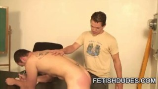 Ryan Starr: A Spanking Punishment For Mishbehaving School Boy Sucking anal