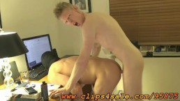 Rob Yaeger Breeds an Anonymous Muscle Slut on the Floor