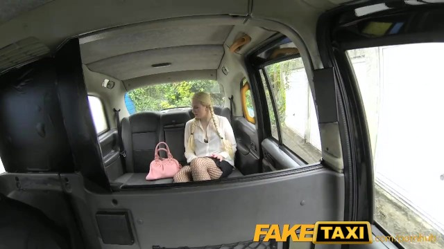 Backseat blonde fuck - Faketaxi blonde likes older men in backseat of london taxi