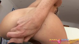 PervCity Brunette Dirty Anal