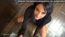 Sex Goddess Anissa Kate gives an Incredible POV blowjob