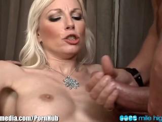 MileHigh DP Orgy with European BABES