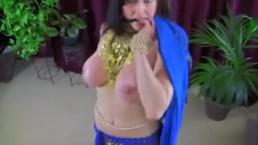 Sexy Busty Milf Belly Dancer