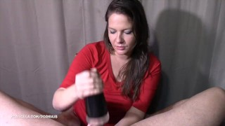 "Preview 5 of You can call me ""The Nutcracker"" :) Fleshlight-Blowjob"