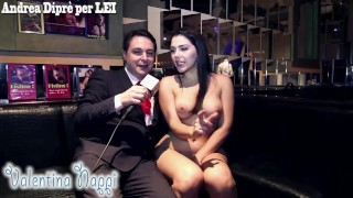 Valentina Nappi nuda sodomizza Andrea Diprè