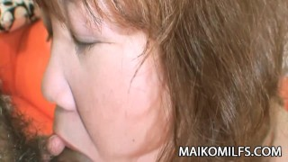 Kumiko Kaga - Plump JAV Mature Pussy Drilled And Creamed  doggy style cum in pussy clit rubbing oral-sex close-up cock-sucking creampie maikomilfs jav chubby mature japanese mature spooning kumiko kaga nasty jav cougar old-on-young