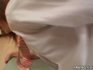 Asian schoolgirl getting ravaged by her man so hard