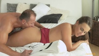 Horny so wet twice milf his devours mom this come cock and and him makes milf mom