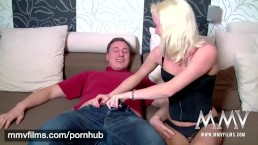 MMV FILMS Amateur German Teen Couple