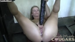 Claire's Creamy Wet Pussy in the Gym