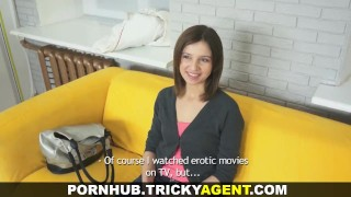 Tricky Agent Another fresh pussy for porn